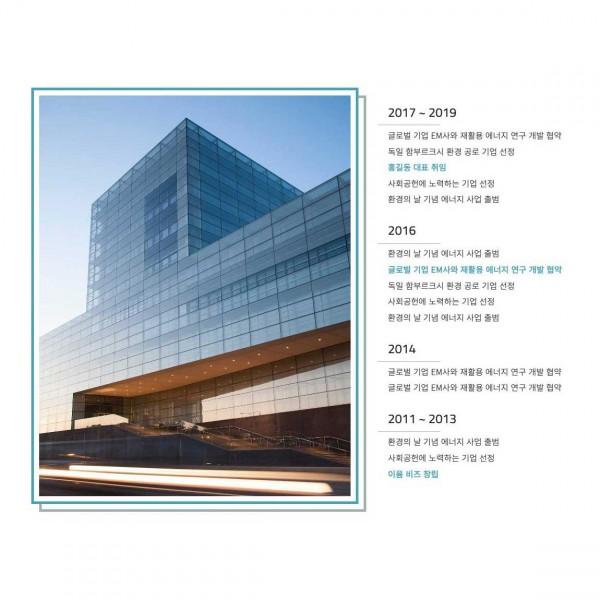 [시즌4] 회사연혁 페이지 (BUSI011_HISTORY)